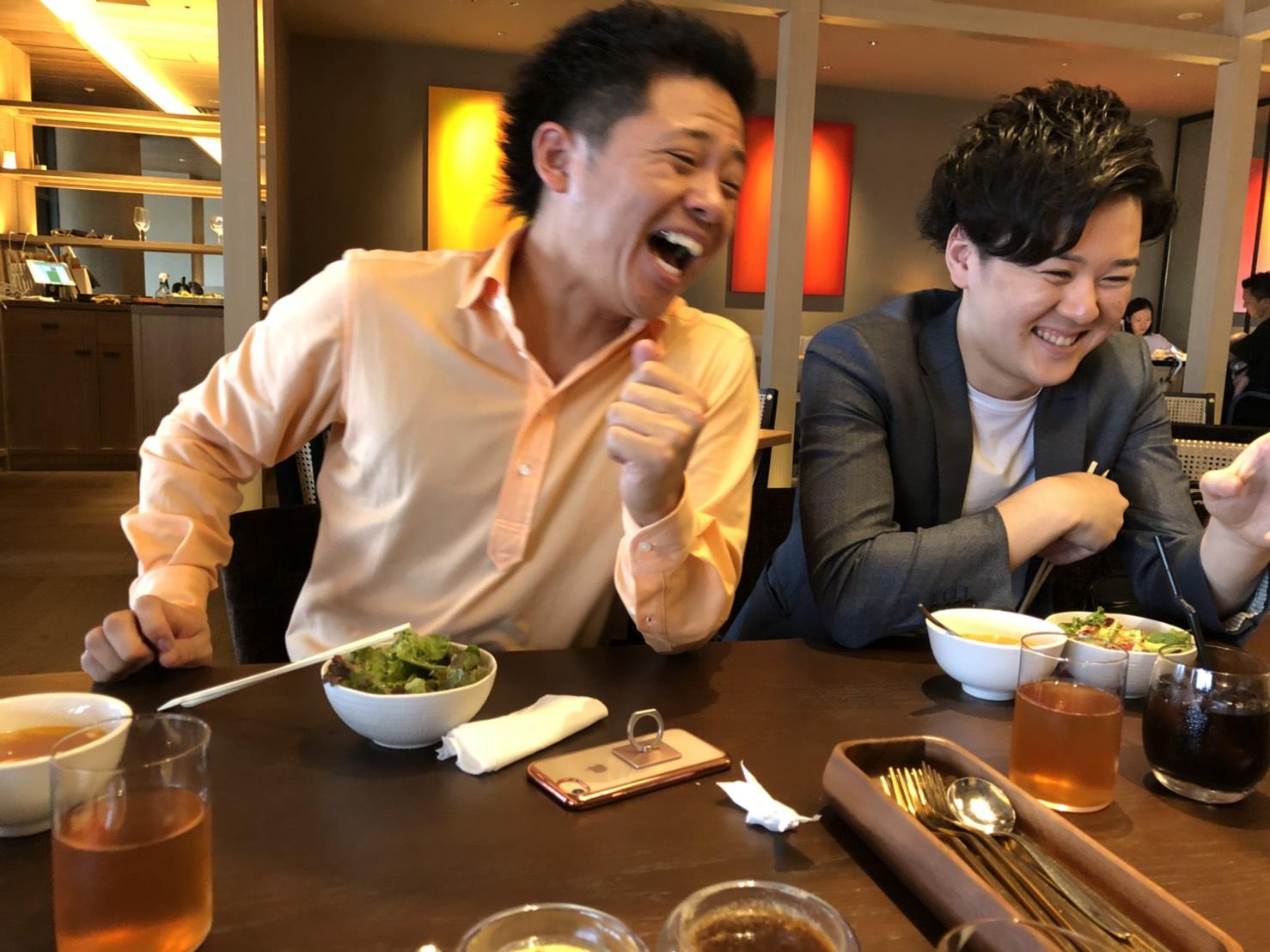 【最近のアカデミー】ペイ初の『独立起業!!!』仲間とランチミーティング